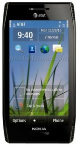 Фото смартфона Nokia X7