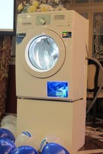 Новинка 2011: Samsung представила стиральную машину Eco Bubble с пузырьками