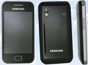 На февральской выставке MWC 2011 будет показан новый смартфон Samsung S5830.