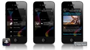 Вышли официальные приложения PlayStation для iPhone